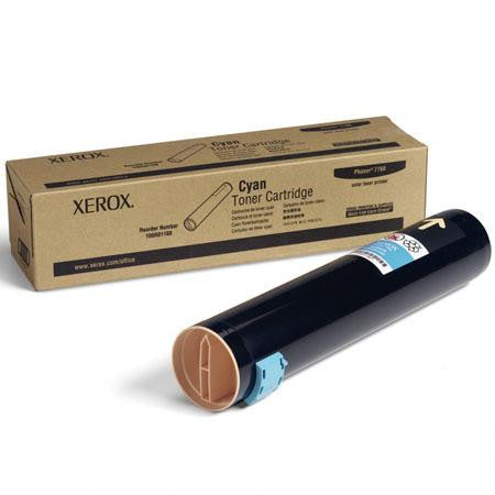 XEROX - 106R01160 - Cyan Toner cartridge High Capacity 25000 pages for the PHASER 7760 Color Printer Xerox - CoolGraphicStuff.com