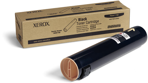 106R01163 - Xerox Toner Cartridge High Capacity Black for Phaser 7760