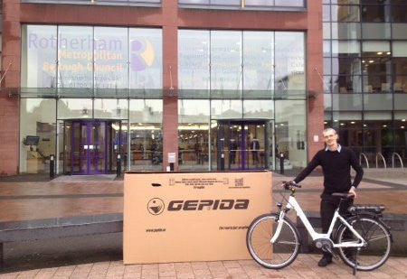 Nationwide Supply Rotherham City Council with eBikes