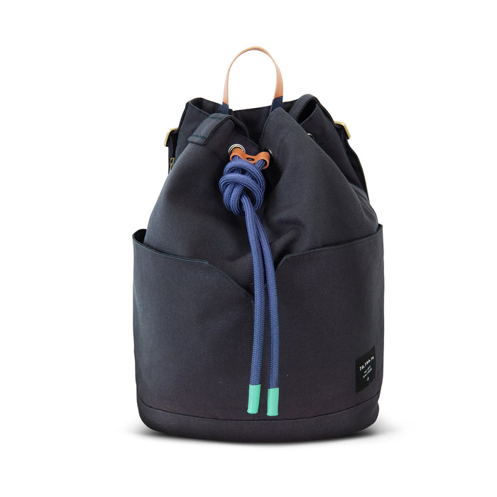 Dumpling backpack - charcoal