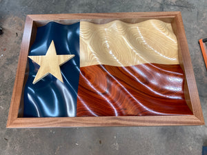 "The ""Waves of Pride"" Texas Flag"