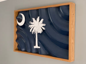 "The South Carolina ""Waving Fronds of Freedom"" State Flag"