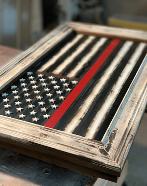 Custom Order for Tony: Colonial Thin Red Line