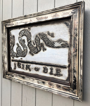 "Franklin's ""Join, or Die"" Colonial Freedom Flag"