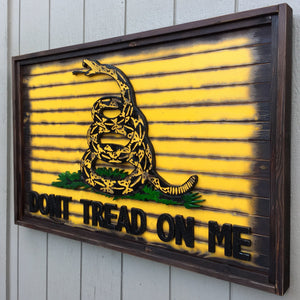 "The Great Gadsden ""Dont Tread on Me"" Flag"