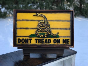 "The ""Mini Me"" Gadsden Dont Tread on Me Flag"