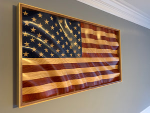"Old Glory ""Golden Waves of Grain"" American Flag"