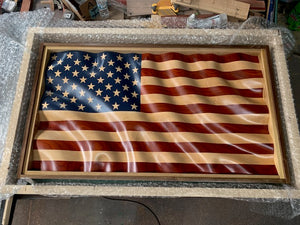 "Old Glory ""Waves of Grain"" American Flag"