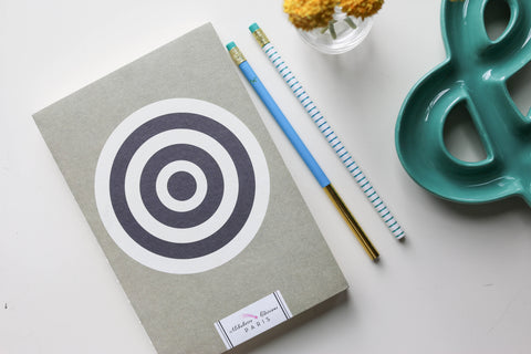 Journal / ArtBook / Notebook - Bullseye!