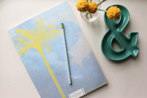Journal / Art Book  - Palm Trees