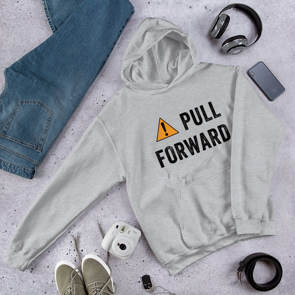 PULL FORWARD Hooded Sweatshirt