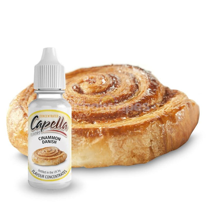 Capella Cinnamon Danish V2 flavour concentrate - rainbowvapes