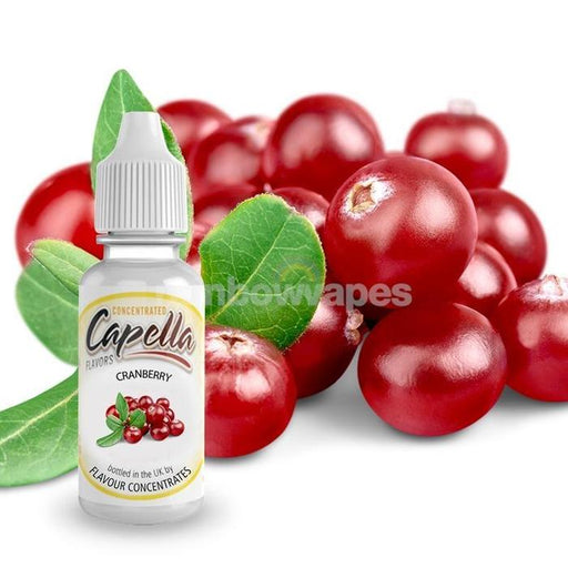 Cranberry Capella flavour concentrate