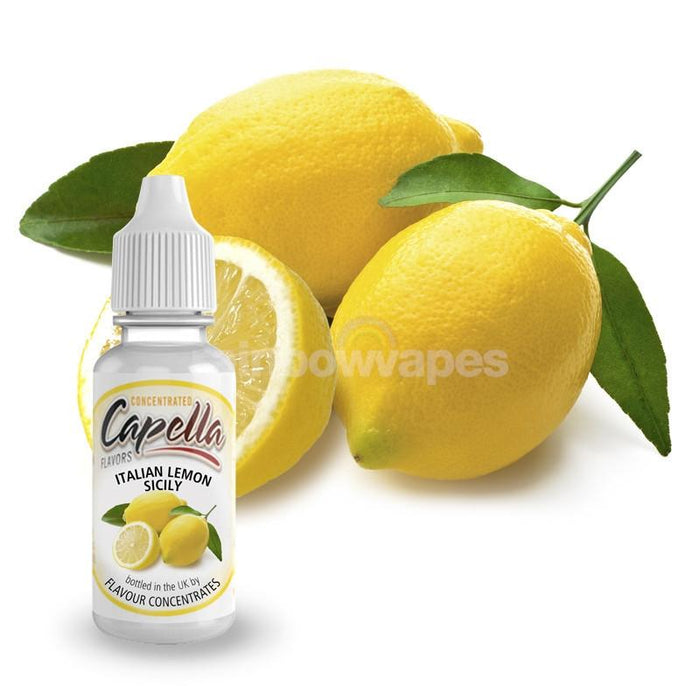 Capella Italian Lemon Sicily Capella flavour concentrate - rainbowvapes