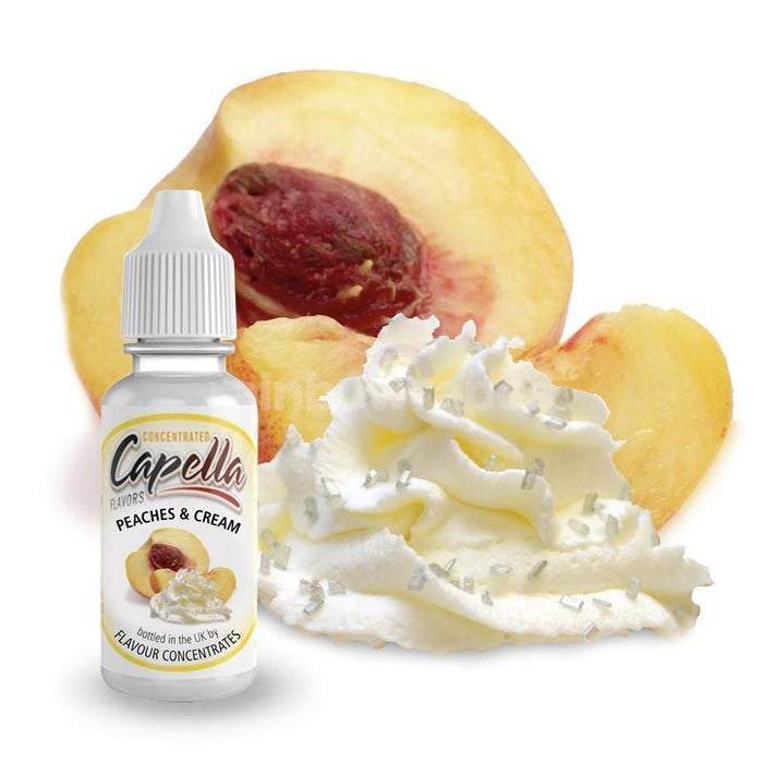 Capella Peaches and Cream v2 Capella flavour concentrate - rainbowvapes