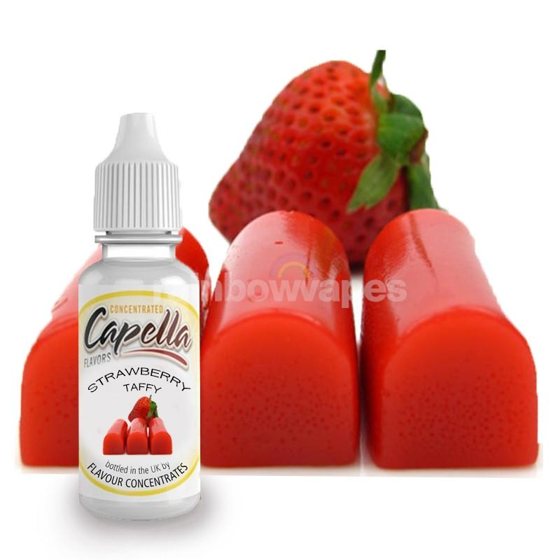 Capella Strawberry Taffy Capella flavour concentrate (NEW) - rainbowvapes