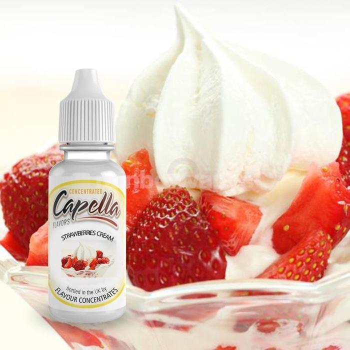 Strawberries & Cream Capella flavour concentrate