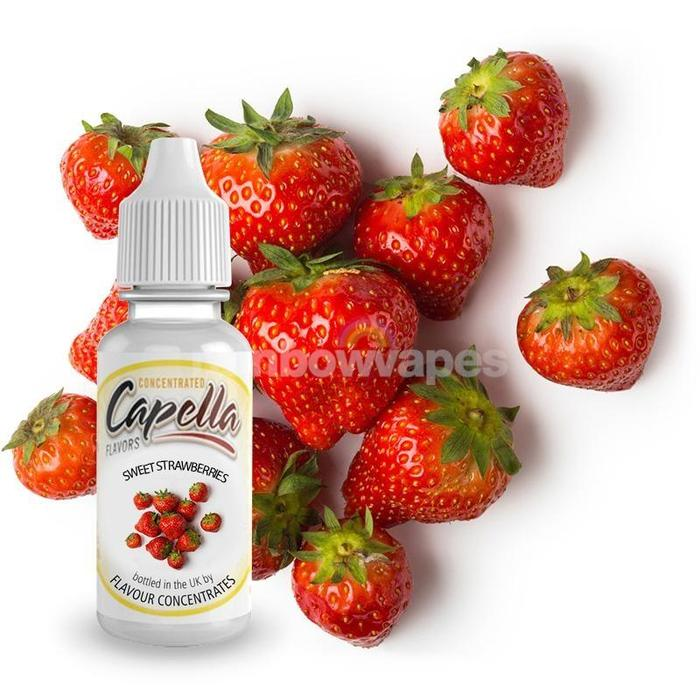 Sweet Strawberry Capella flavour concentrate