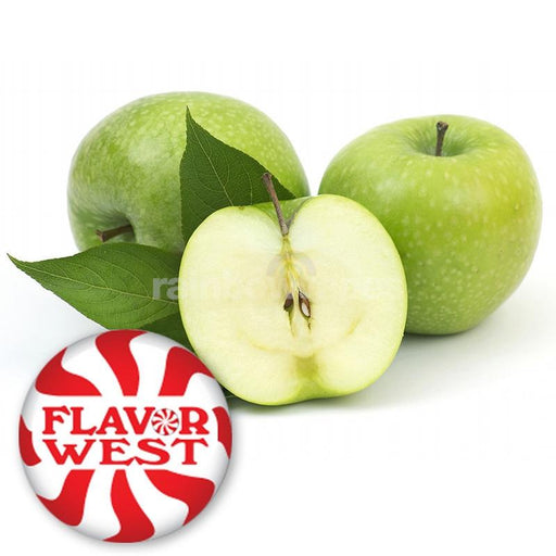 Flavorwest Apple (Green,Natural) Flavor West Flavour Concentrate - rainbowvapes