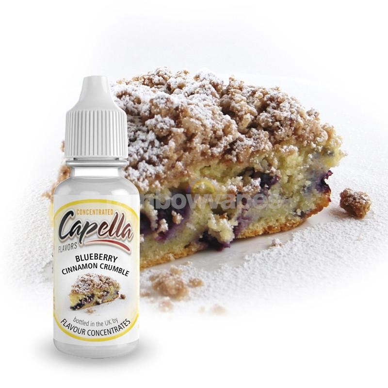 Capella Blueberry Cinnamon Crumble Capella flavour concentrate - rainbowvapes
