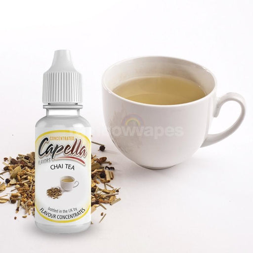 Capella Chai tea Flavoured Capella Liquid concentrate - rainbowvapes