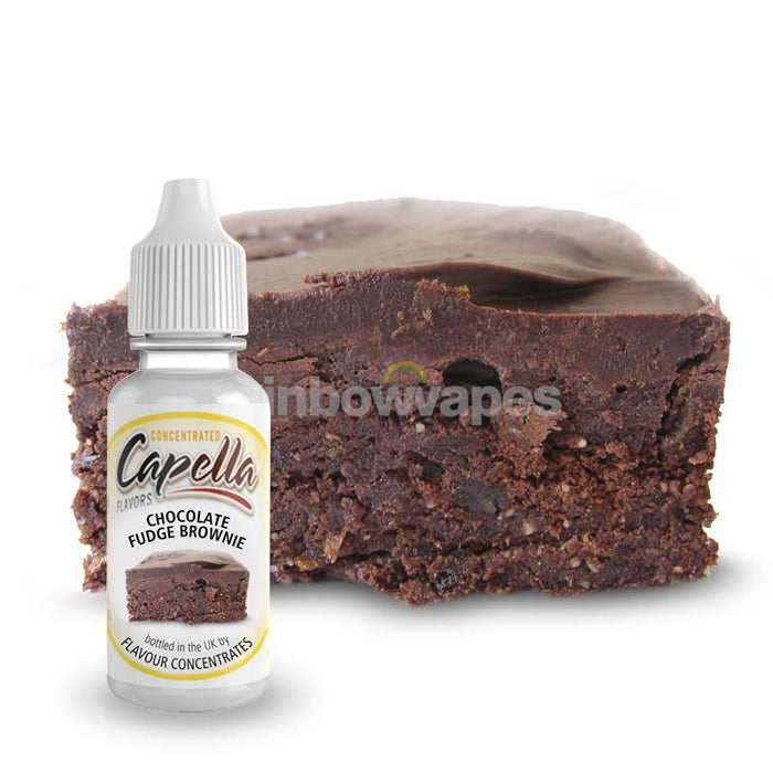 Capella Chocolate Fudge Brownie V2 flavour concentrate - rainbowvapes