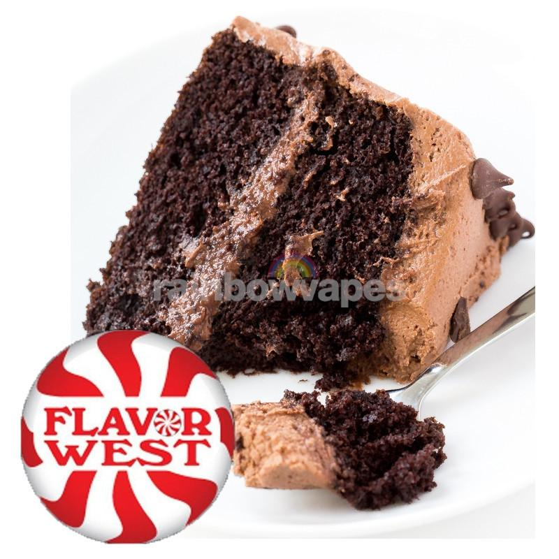 Flavorwest Creamy Chocolate Cake Flavor West Flavour Concentrate - rainbowvapes