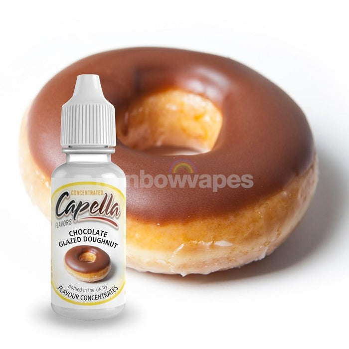 Capella Chocolate Glazed Doughnut Capella flavour concentrate - rainbowvapes