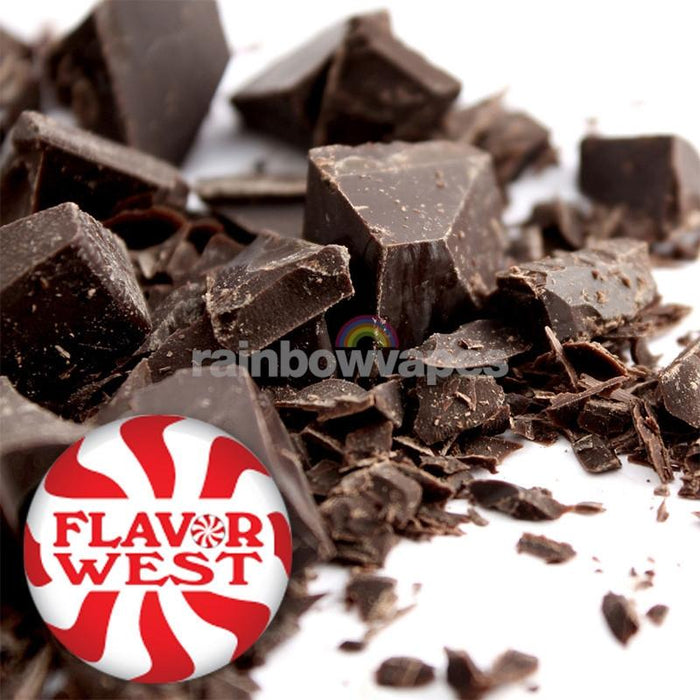 Flavorwest Dark Chocolate Flavor West Flavour Concentrate - rainbowvapes