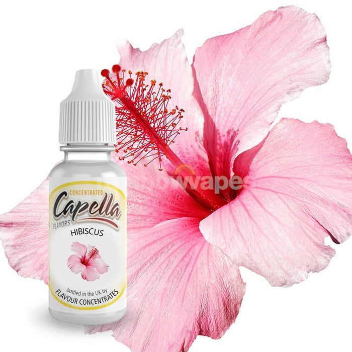 Capella Hibiscus Flavoured Capella Liquid Concentrate - rainbowvapes