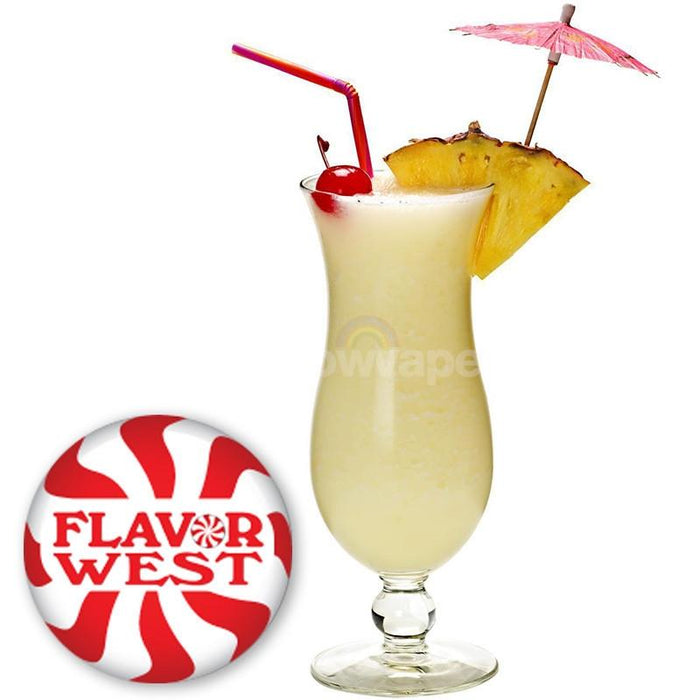 Flavorwest Pina Colada Flavor West Flavour Concentrate - rainbowvapes