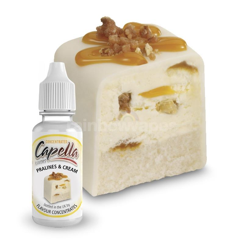 Capella Pralines & Cream Capella flavour concentrate - rainbowvapes