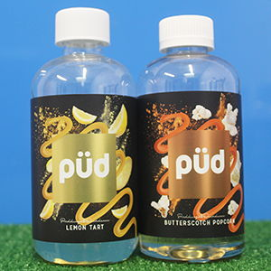 Pud E-Liquids by Joes Juice 200ml Short Fill