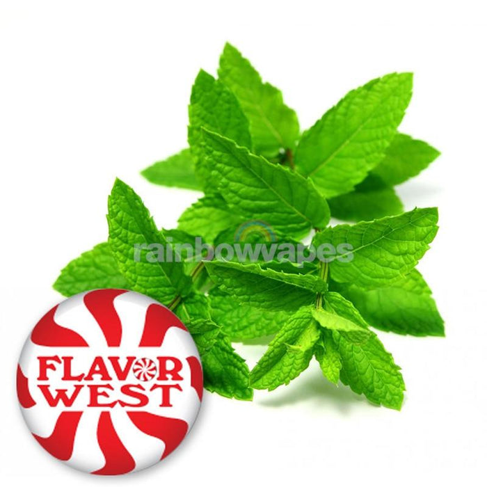 Flavorwest Natural Spearmint Flavor West Flavour Concentrate - rainbowvapes