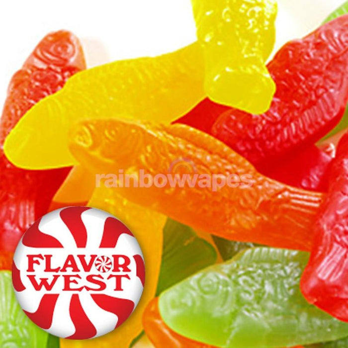 Flavorwest Swedish Fish Type Flavor West Flavour Concentrate - rainbowvapes