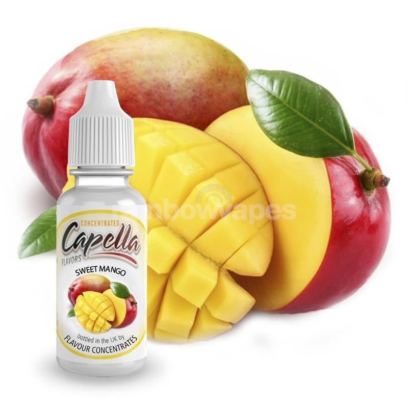 Capella Sweet Mango flavour Capella concentrate - rainbowvapes