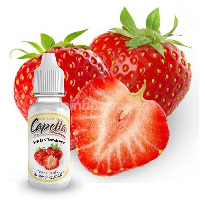 Capella Sweet Strawberry Capella flavour concentrate - rainbowvapes