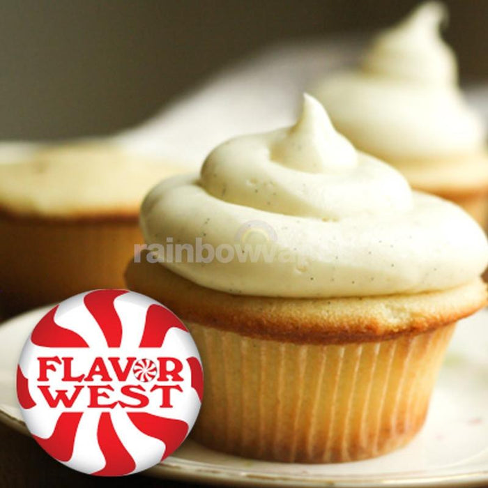 Flavorwest Vanilla Cup Cake Flavour Concentrate By Flavor West - rainbowvapes