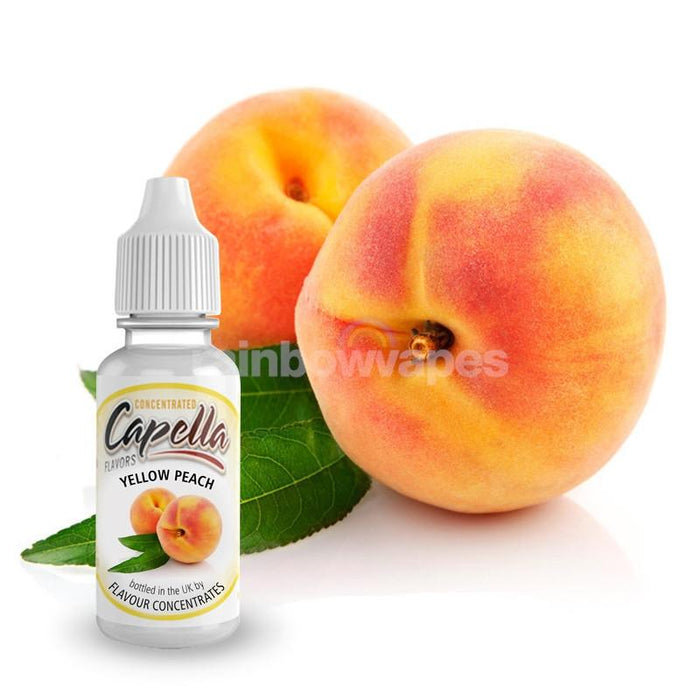 Capella Yellow Peach Flavor Concentrate - rainbowvapes