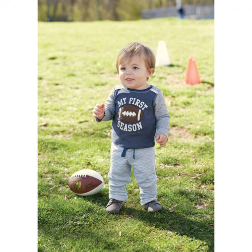 Football Pants Set by Mud Pie