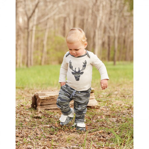 Camo Pants Set by Mud Pie