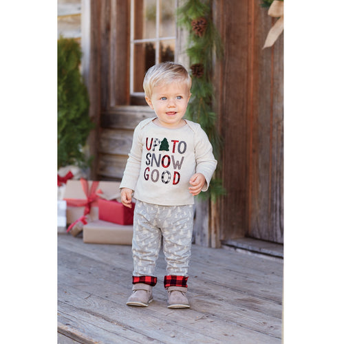 Up to Snow Good Pants Set by Mud Pie