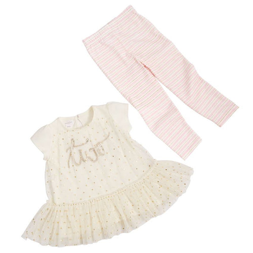 BIRTHDAY PRINCESS TUNIC & LEGGINGS SET-I'm 2