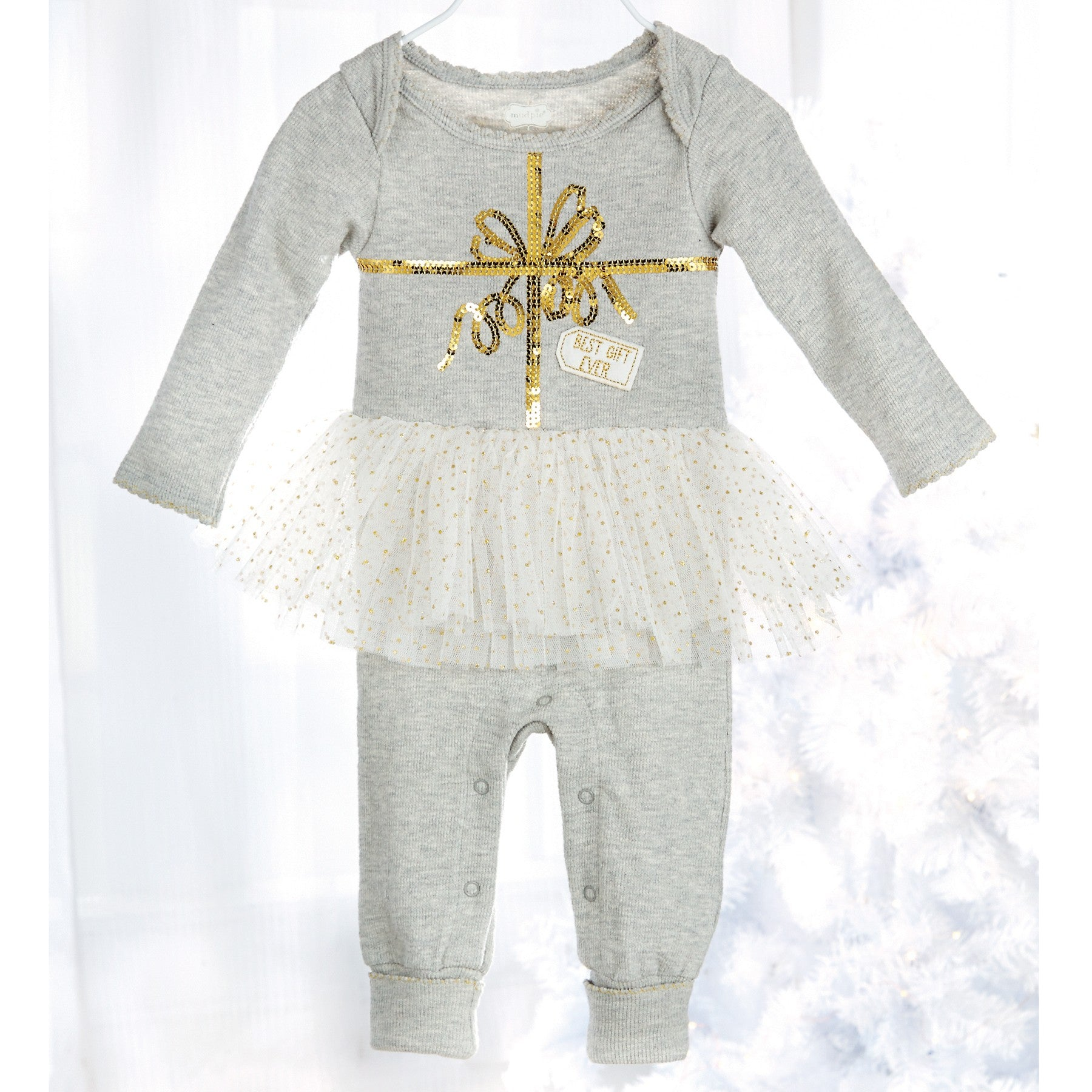 Best Gift Ever Tutu One Piece by Mud Pie