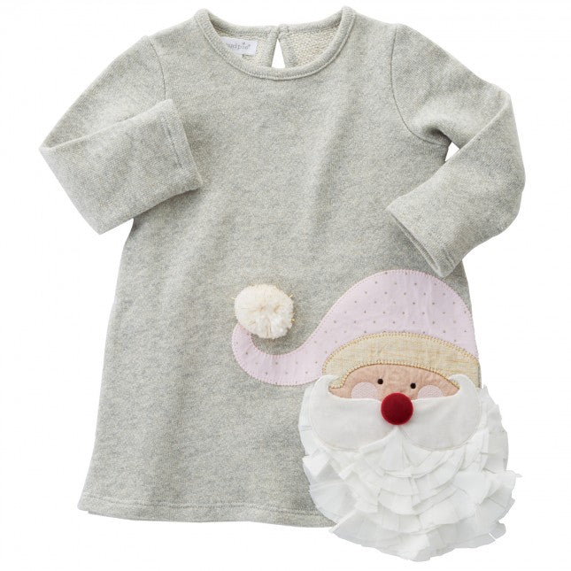 Sparkle Santa Dress by Mud Pie