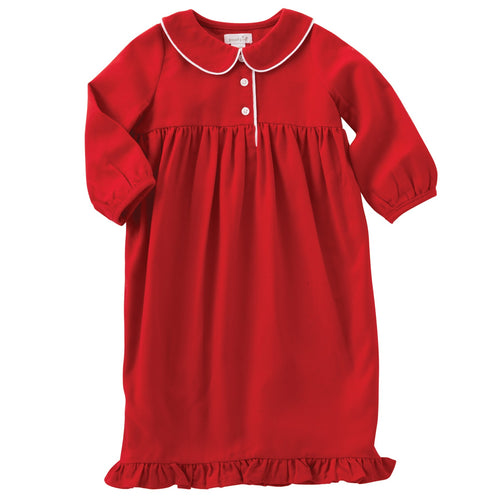 Holiday Red Night Gown by Mud Pie