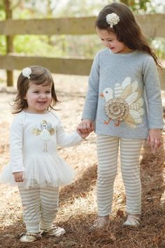 Turkey Tunic and Leggings Set by Mud Pie