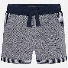 Mayoral Baby Boys Stripe Contrast Shorts