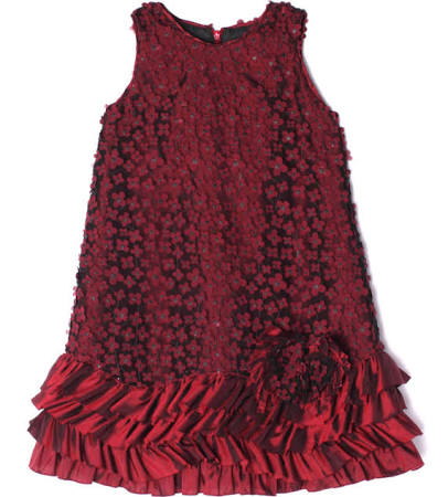 Isobella & Chloe Pomegranate Dress