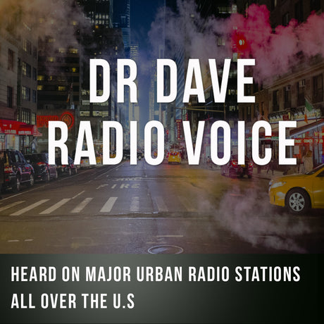 DR. Dave Radio Voice English